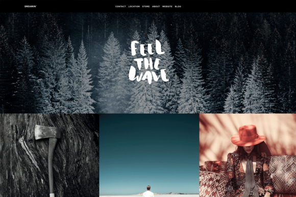 Creative Tumblr Theme