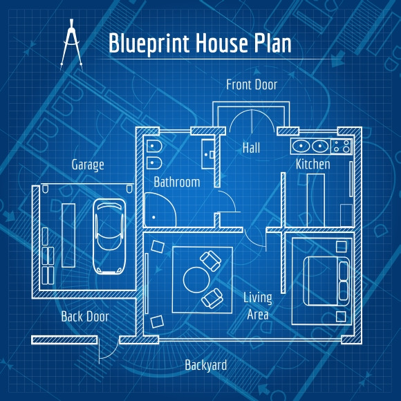 Blueprint House Plan
