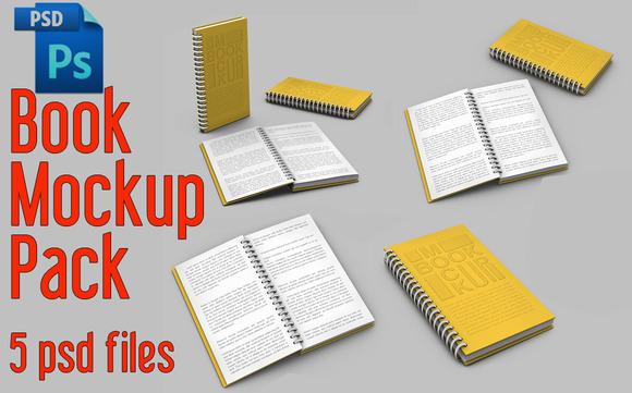 Spiral Book Mock-Up