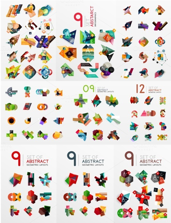 Over 100 Nice Infographic Banners