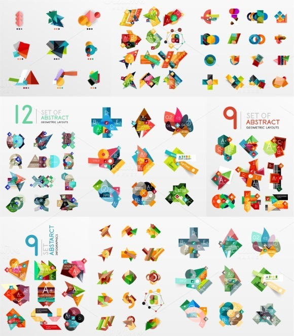 94 Paper Info Designs