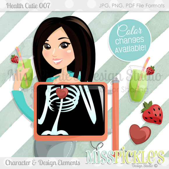 Health Cutie 007 With Elements