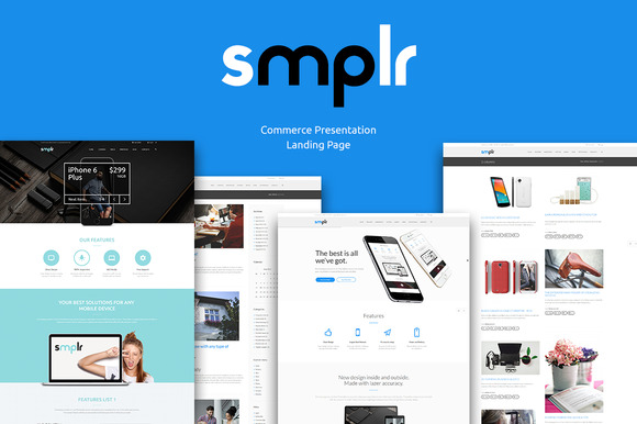 Smplr Commercial Presentation Theme