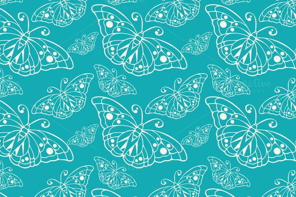 Wallpaper Pattern Butterfly