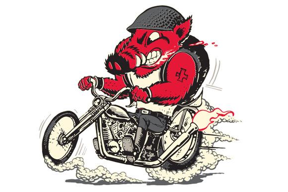 Biker Hog