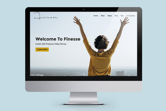 Finesse WooCommerce Theme