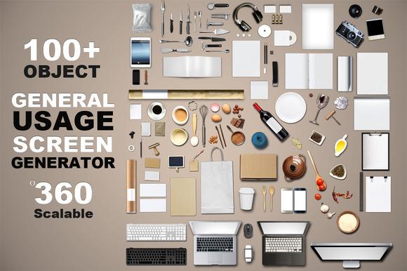 General Usage Screen Generator