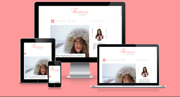 Ecstacy Blogger Template