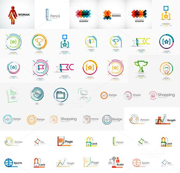 Modern Line Corporate Logos
