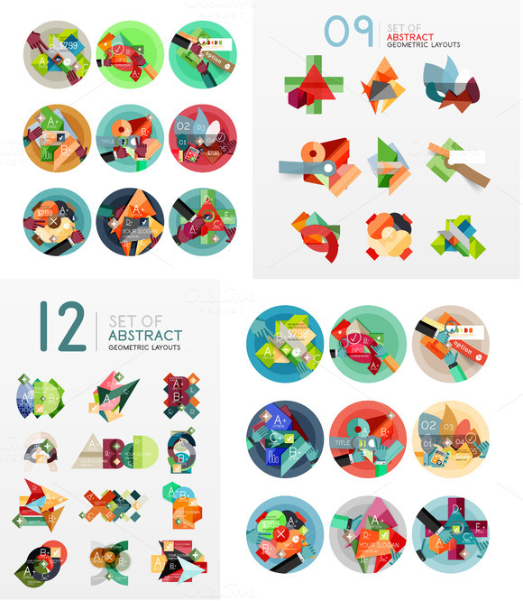 39 Abstract Geometric Layouts