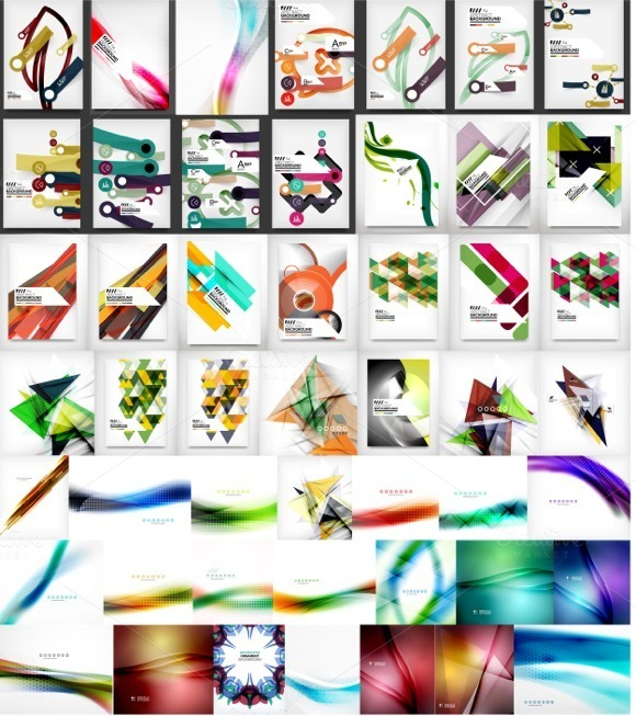 Mega Collection Of Abstract Designs