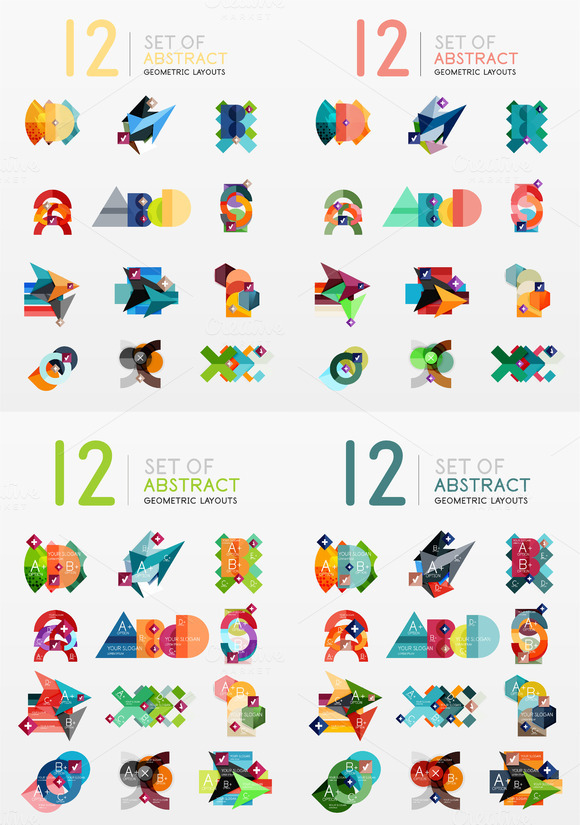 48 Great Infographic Layouts