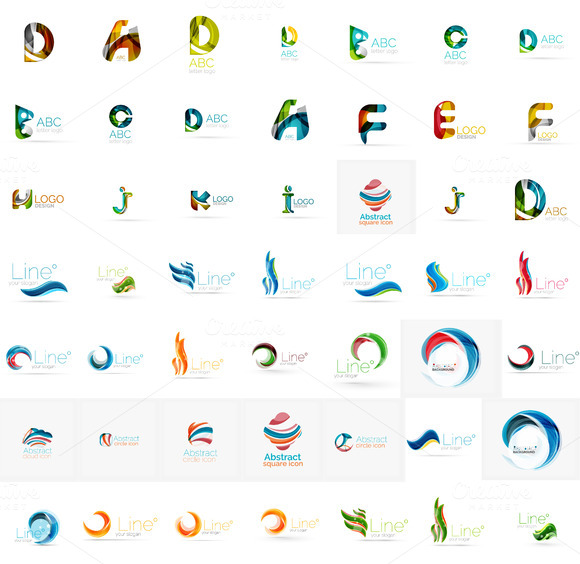 Awesome Letter Logos Collection