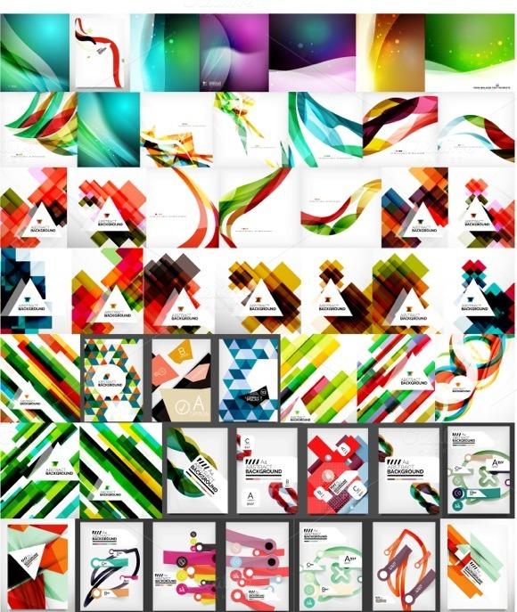 Universal Geometric Backgrounds Set
