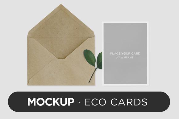 Mockup Eco Cards