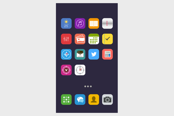 Vibrant IOS Icon Set