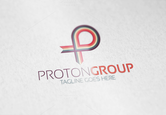 Proton Group P Letter Logo