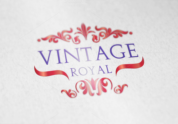 Vintage Royal Logo