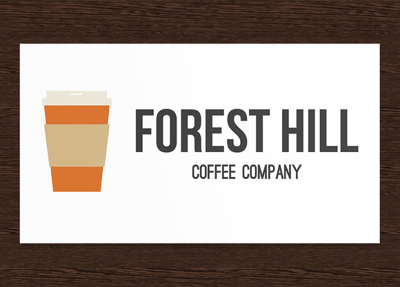 Forest Hill Coffee Shop Company Logo