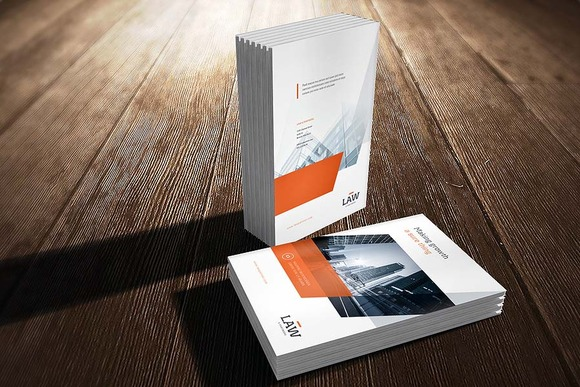 A4 Brochure Cover Mock-Up
