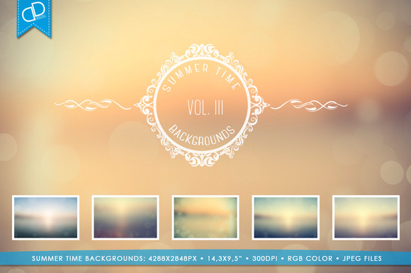 Summer Time Backgrounds Vol III