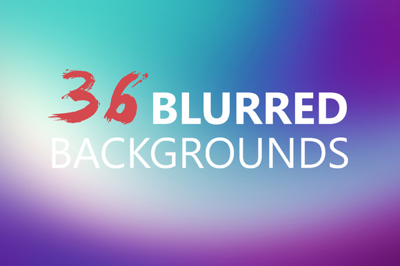 Blurred Backgrounds