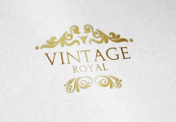 Vintage Royal V3 Logo
