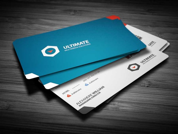 Class Corporate Business Card