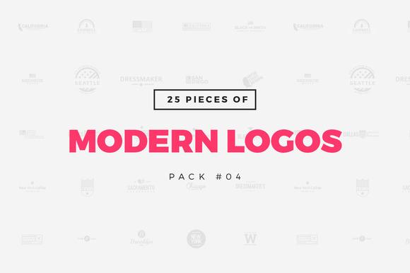 25 Modern Logo Templates