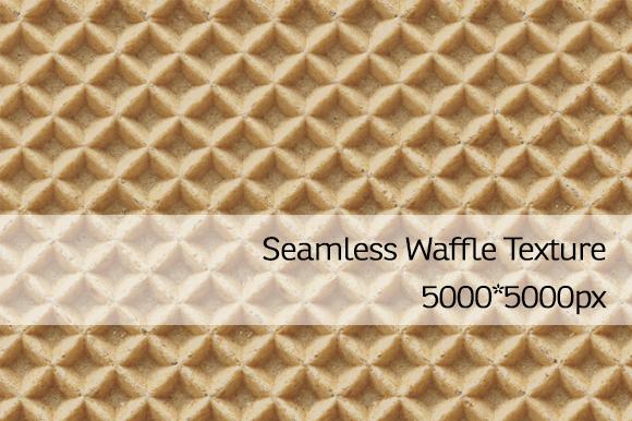 Seamless Waffle-Waffer Texture