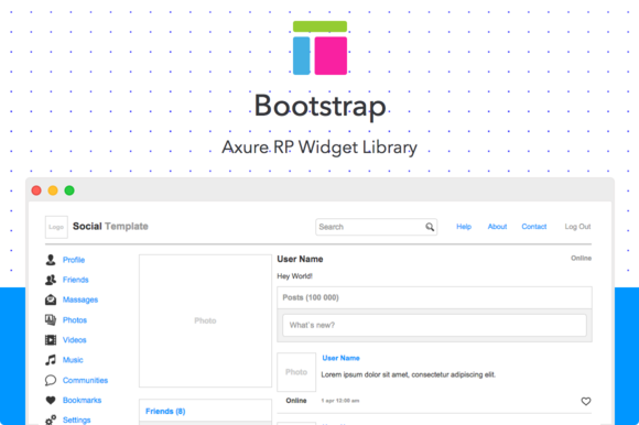 Axure Widget Library Bootstrap