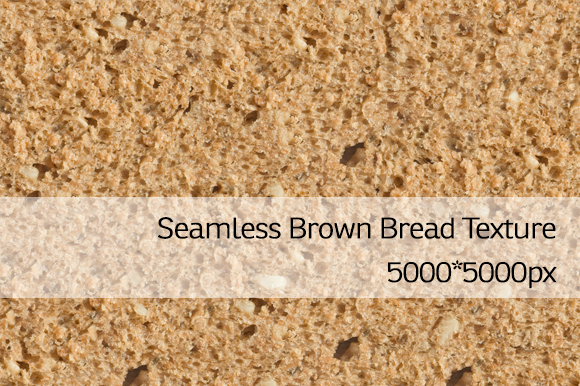 Seamless Brown Bread Texture