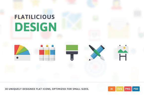 Design Flat Icons