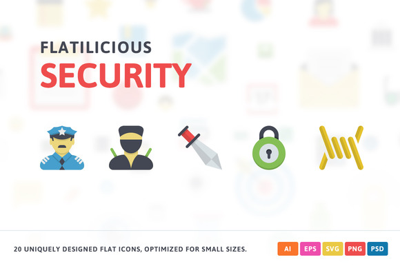 Security Flat Icons