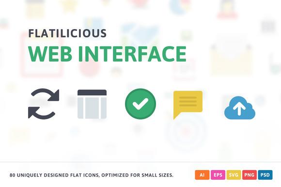 Web Interface Flat Icons