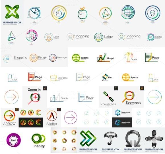 Over 50 Company Logos