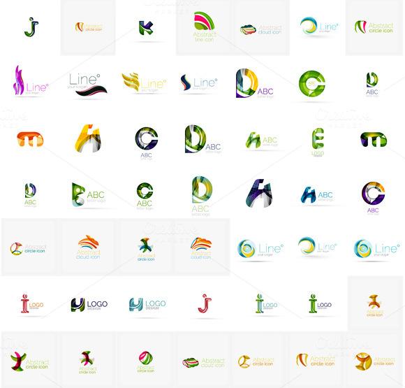 Universal Corporate Logotypes Set