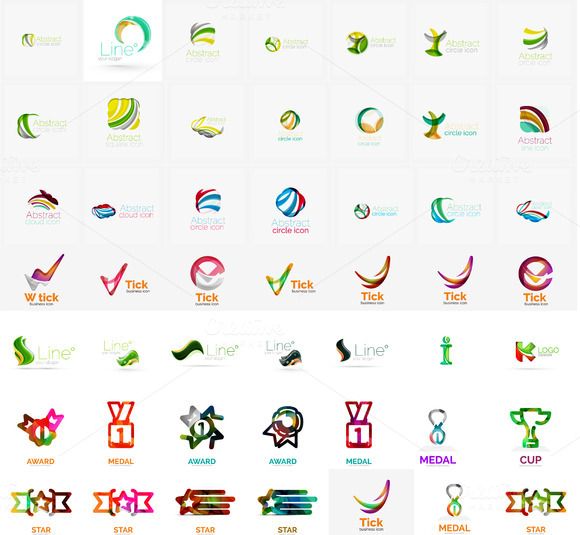 Large Collection Of Business Icons
