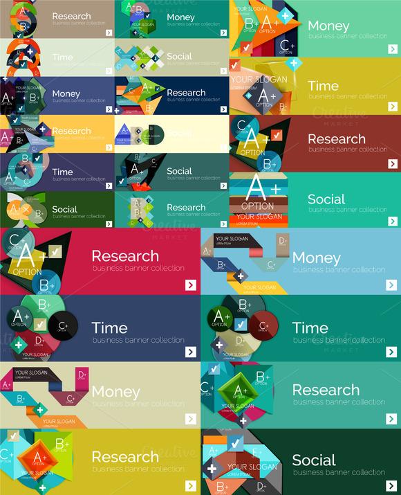 24 Modern Infographic Designs
