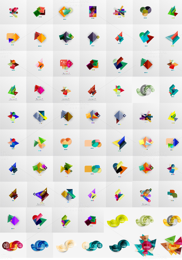 70 Modern Infographic Designs