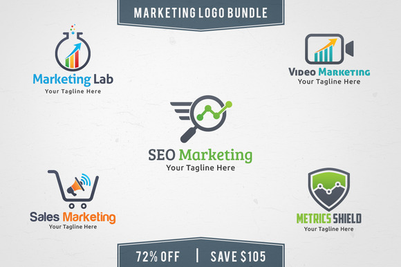 Marketing Logo Bundle