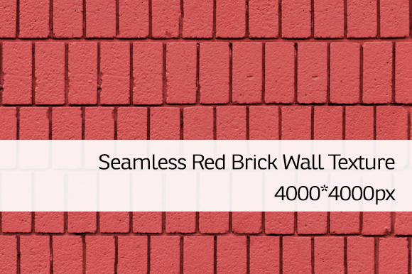 Seamless Red Brick Wall Texture