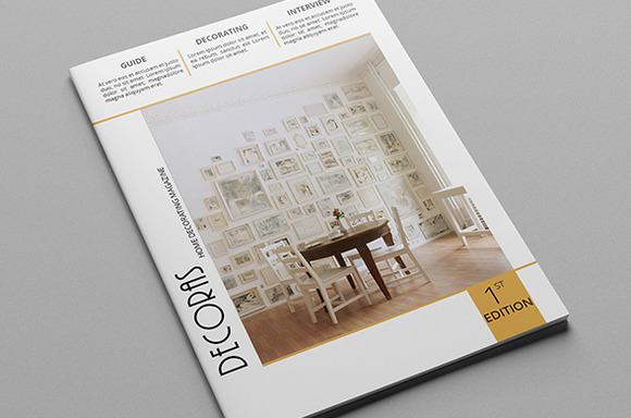 Decoras Magazine Template