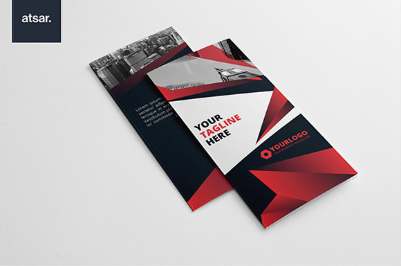 Red Triangle Trifold