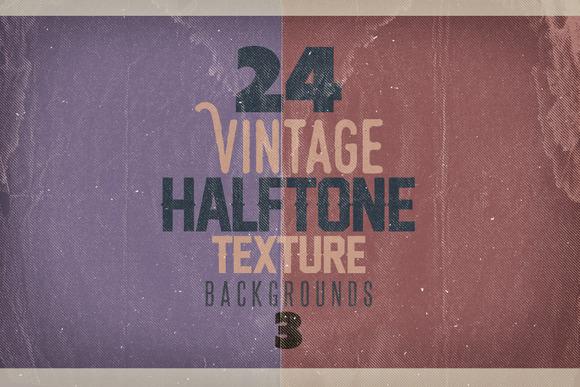 Vintage Halftone Texture BGs 3