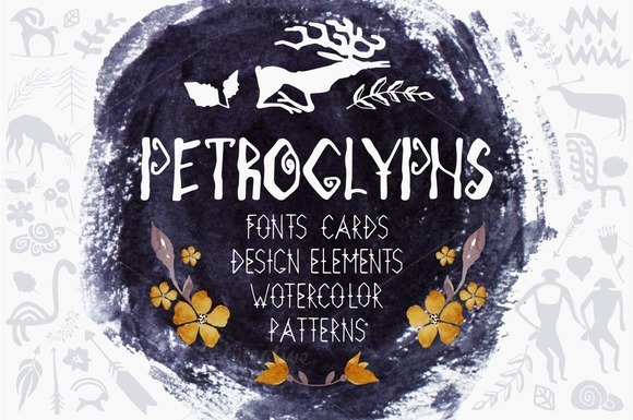 PETROGLYPHS Big Kit For Design