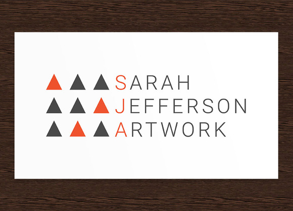 Sarah Jefferson Artist Logo PSD