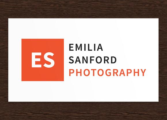 Emilia Sanford Photography Logo PSD