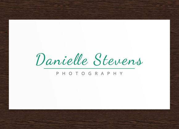 Danielle S Photography Logo PSD