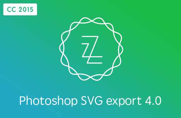 Zeick CC 2015 Photoshop SVG Export
